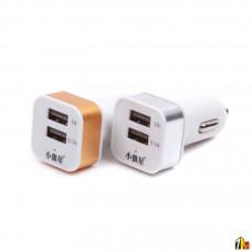 Автомобильный адаптер на 2 USB 2,1 А без упаковки