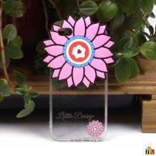 """Силиконовый чехол """"Цветы"""" для iPhone 6/6S"""