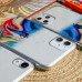 Силиконовый чехол Акварель для iPhone X