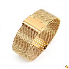 Ремешок металлический для Samsung Galaxy Watch 22мм Золотой