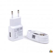 Сетевое зарядное устройство 2 в 1 micro USB для Samsung S6 и пр.