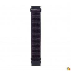 Ремешок Нейлоновый для Samsung Galaxy Watch 22мм Темно-синий