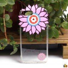 """Силиконовый чехол """"Цветы"""" для iPhone 7 Plus"""