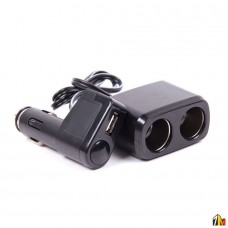 Двойник прикуривателя с USB разъемом WF-0097