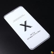 Защитное стекло Full Glue Premium для iPhone 11 Pro Max на полный экран