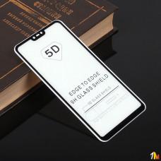 Защитное стекло Full Glue для Xiaomi Mi8 Lite на полный экран