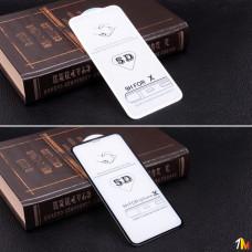 Защитное стекло 5D для iPhone X на полный экран