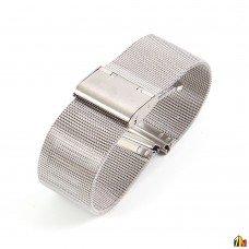 Ремешок металлический для Samsung Galaxy Watch 22мм Серебристый