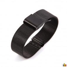 Ремешок металлический для Samsung Galaxy Watch 18мм Черный