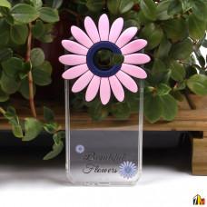 """Силиконовый чехол """"Цветы"""" для Samsung Galaxy A7 (2017)"""