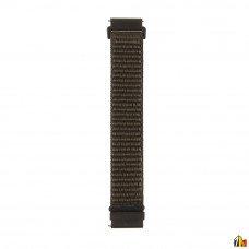 Ремешок Нейлоновый для Samsung Galaxy Watch 22мм Темно-зеленый