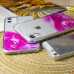 Силиконовый чехол Акварель для iPhone 12