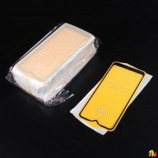 Защитное стекло Full Glue для Samsung Galaxy A01 в тех.упаковке (25 шт)
