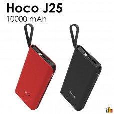 Внешний АКБ HOCO J25 New Power Lightning Mobile Power Bank 10000 mAh LiPol USB 2,1A (черный)
