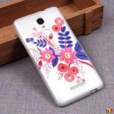 Матовый чехол со стразами для Xiaomi Redmi Note 3/3 Pro