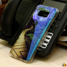 Панель ТПУ Blue Shine для Samsung Galaxy S8 Plus