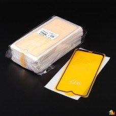 Защитное стекло Full Glue для Xiaomi Redmi Note 8 в тех.упаковке (25 шт в компл)