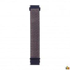 Ремешок Нейлоновый для Samsung Galaxy Watch 22мм Синий