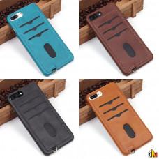 Чехол с карманом под пластиковые карты для iPhone 7 Plus