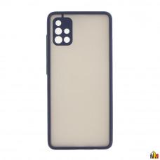 Чехол для Samsung Galaxy A51,ТПУ, матовый, с цветными бортиками