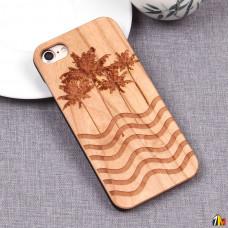 Чехол из дерева для iPhone 7