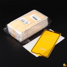 Защитное стекло Full Glue для Xiaomi Redmi 8 в тех.упаковке (25 шт в компл)