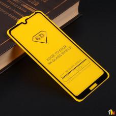 Защитное стекло Full Glue для Huawei Y6 (2019) на полный экран