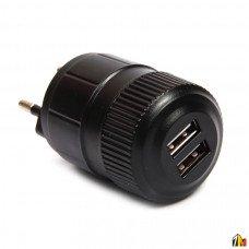Сетевой адаптер на 2 USB Roko JB-A04 2100 mAh