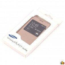 Задняя крышка-чехол Flip Cover для Samsung G850F Galaxy Alpha