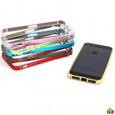 Бампер Cross металлический 0,7 мм для iPhone 5/5S