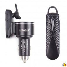 Автомобильное зарядное устройство с Bluetooth гарнитурой Eplutus CB-101