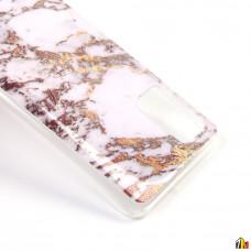 Чехол для Samsung Galaxy A51 Мрамор, ТПУ