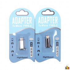 Адаптер Type-C - Lightning для iPhone