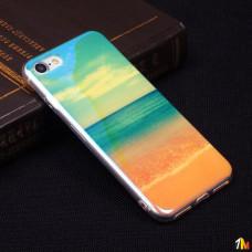 Панель ТПУ Blue Shine для iPhone 7