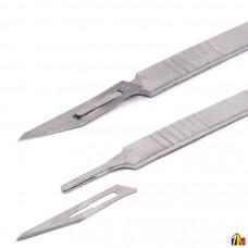 Скальпель с лезвиями для ремонта (из нерж.стали)