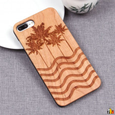 Чехол из дерева для iPhone 7 Plus