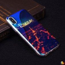 Панель ТПУ Blue Shine для iPhone X