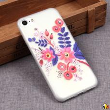 Матовый чехол со стразами для iPhone 7