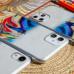 Силиконовый чехол Акварель для Samsung Galaxy A10