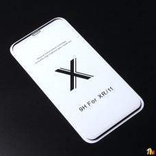 Защитное стекло Full Glue Premium для iPhone XR на полный экран