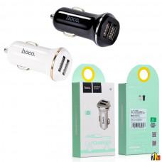 Автомобильный адаптер Hoco Z1 на 2 USB