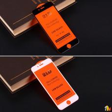 Защитное стекло Full Glue для iPhone 6/6S на полный экран