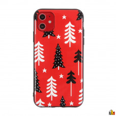 Чехол ТПУ Florme Новый Год для iPhone 12