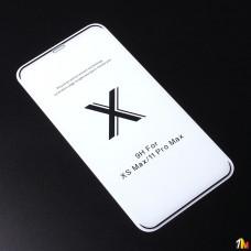 Защитное стекло Full Glue Premium для iPhone XS Max на полный экран
