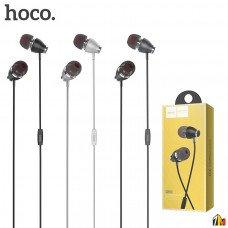 Наушники внутриканальные HOCO M28, Ariose, микрофон, кнопка ответа, кабель 1.2м, цвет: чёрный (1/18/