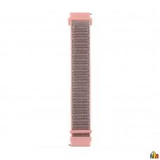 Ремешок Нейлоновый для Samsung Galaxy Watch 22мм Розовый песок