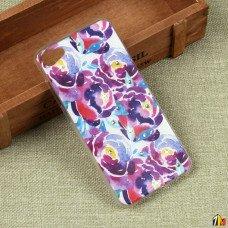 Силиконовый чехол с цветами для Meizu U10