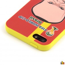 Панель ТПУ 2014 FIFA World Cup Brasil для iPhone 5/5S
